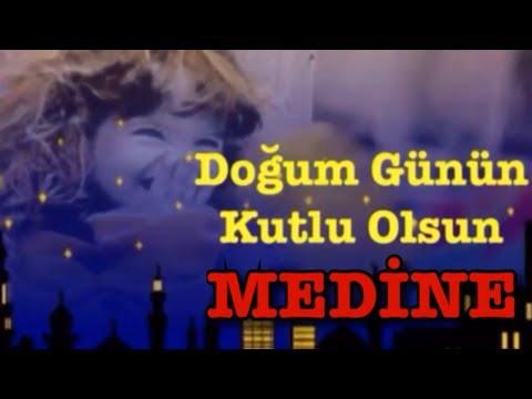 MEDİNE İyi ki Doğdun :)  3. VERSİYON, KOMİK DOĞUMGÜNÜ VİDEOSU Made in Turkey :) 🎂
