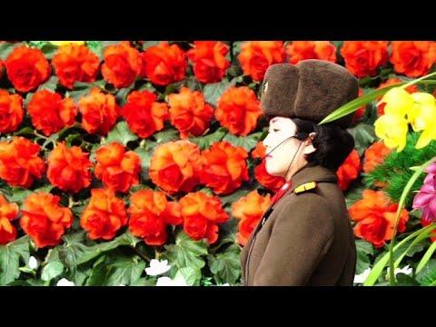 North Koreans attend Kimjongilia flower festival