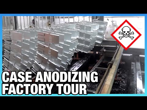 Anodizing Factory & How It Works, ft. Lian Li Computer Cases