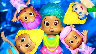 Bubble Guppies Molly Mermaid Hair Salon Changing Outfits