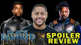 Black Panther - Spoiler Review