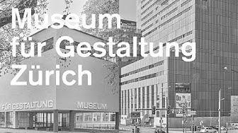 Museum für Gestaltung Zürich – Zwei Standorte
