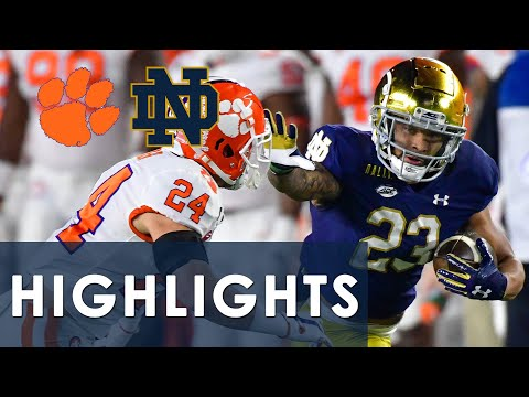 Clemson vs. Notre Dame | EXTENDED HIGHLIGHTS | 11/7/2020 | NBC Sports