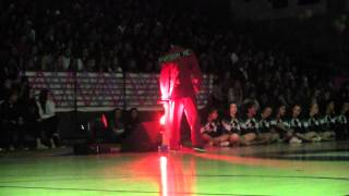 Homecoming Rally - Lyrical Prophets Perform