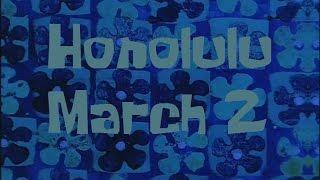 SpongeBob Production Music Honolulu March (George De Fretes version)