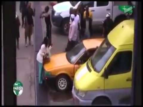 Cameroon two Women fight over a Whiteman thumbnail