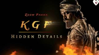 Hidden Details of KGF Chapter 1 | Zoom Panna | Less Than 3 Tamil