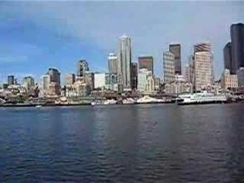 Seattle waterfront from Elliot Bay
