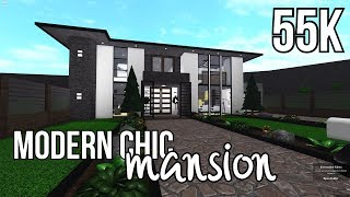 ROBLOX - France Bloxburg: Modern Chic Mansion 55k