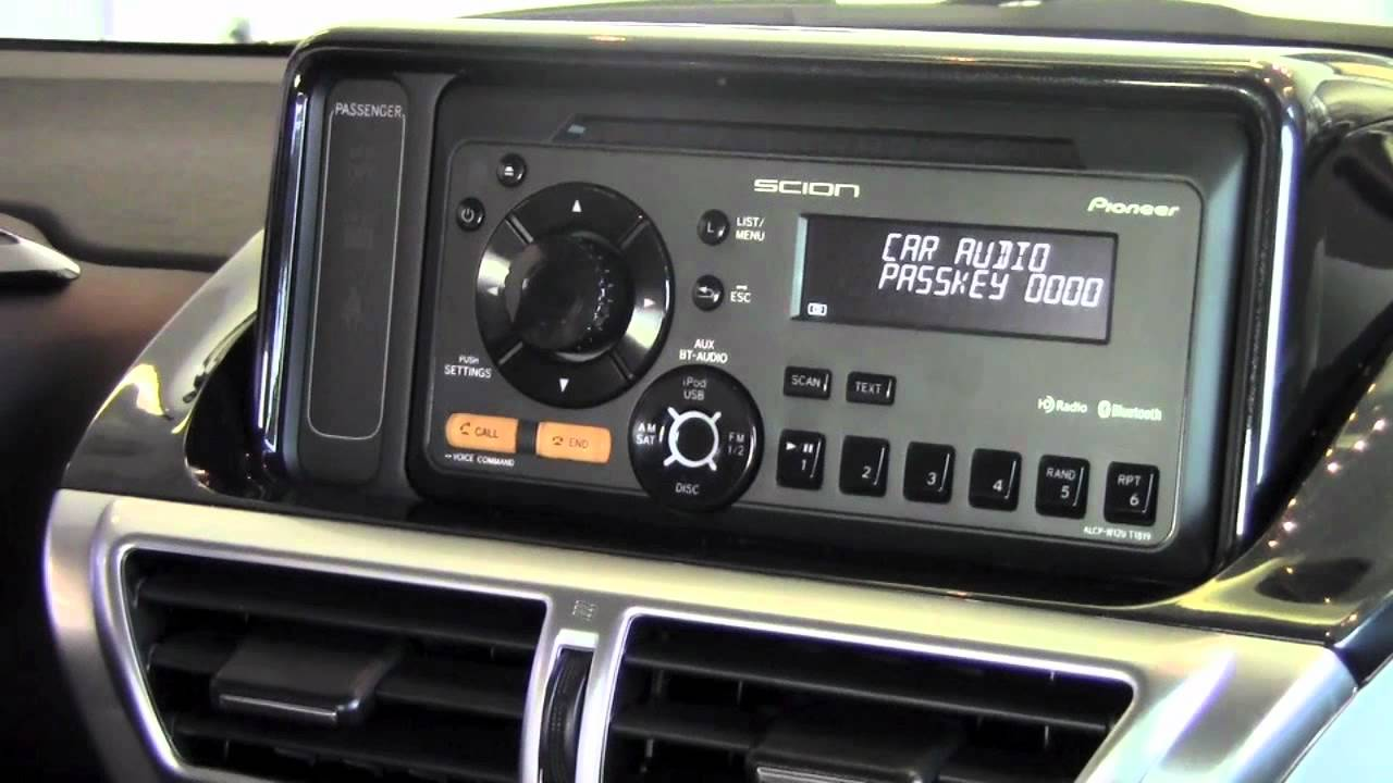 2012 Scion IQ Pair Phone Via Bluetooth How To By