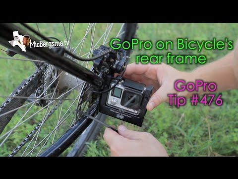 Wide Open Camera Mount on Bicycle's Rear Frame - GoPro Tip #476 - YouTube