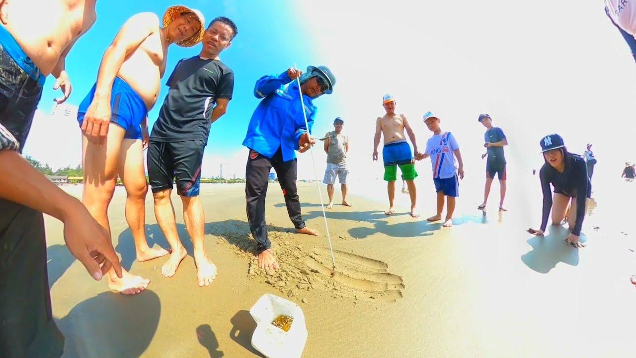 Cách bắt tôm tích đầy bất ngờ, câu tôm tích cực hay 😄 (Creative ways to catch Mantis Shrimps)