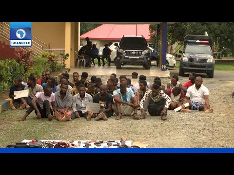 Police Parade Suspected Kidnappers, Others In Calabar