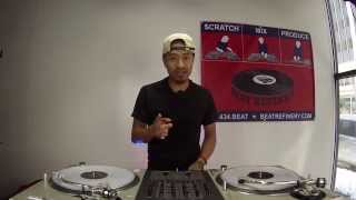 Learn to dj tutorial: clocking on the turntables (dj as-one)
