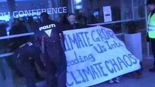 Climate Justice Action demonstration KlimaForum COP15