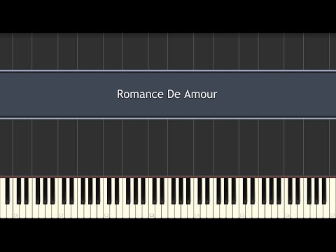 Romance De Amour (Piano Tutorial)