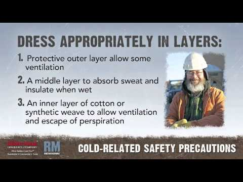 Toolbox Talk Cold Safety Youtube