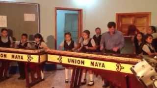 Escuela Nacional de Marimba de San Antonio Huista, Huehuete