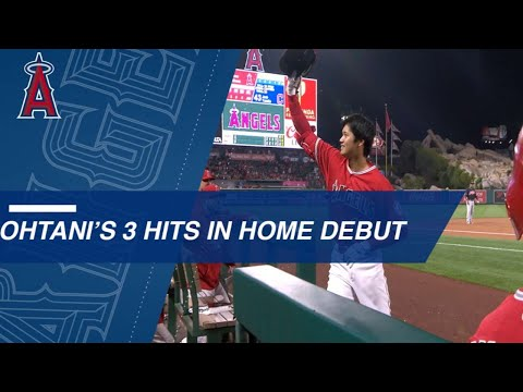 Listen to the Japanese call of Shohei Ohtani's first HR