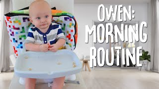 Baby Owen's Morning Routine