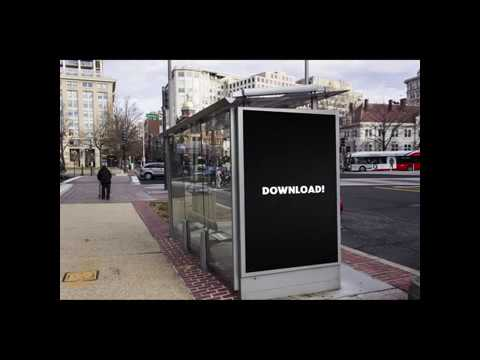 Orchard Pig - Public Space Advertising: Bus Stop