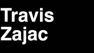 How to Pronounce Travis Zajac New Jersey Devils NHL Hockey Player Runforthecube