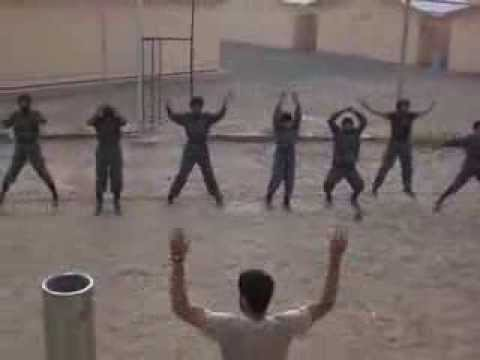 Afghan National Police Jumping Jacks