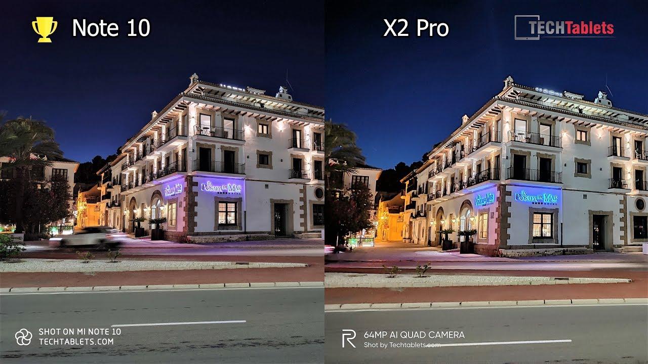 Xiaomi Mi Note 10 Vs Realme X2 Pro Camera Comparison Youtube