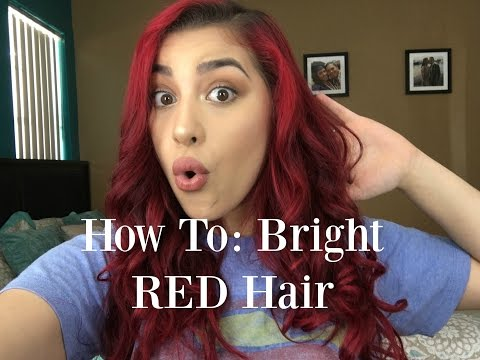 How To Get and Care for RED Hair (No Bleach) | TIFFANY ASTRALAGA