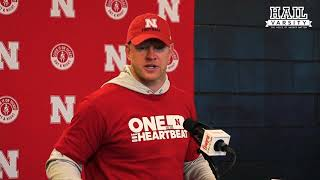 Nebraska Football: Scott Frost Following the Spring Game
