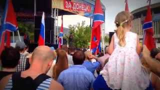 Airborne troops against Ukranian fascism ВДВ за Новороссию! За Донбасс!