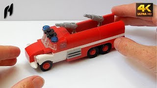 How to Build the Tatra 148 Firetruck (Updated MOC - 4K)