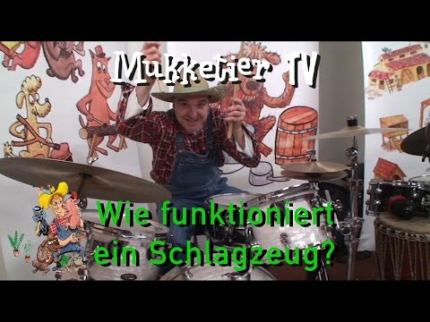 Wie funktioniert ein Schlagzeug? | Mukketier TV from YouTube · Duration:  6 minutes 12 seconds
