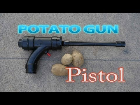 How To Make Potato Gun Pistol