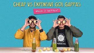 Cheap Vs Expensive  Gol Gappas: Which Is Better? | Ft. Akshay & Kanishk | Ok Tested