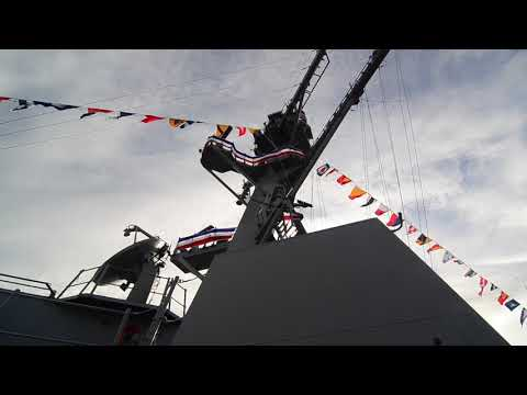 U.S. Navy | DDG-116 | USS Thomas Hudner | Commisioning Tour | Boston | Guided Missile Destroyer