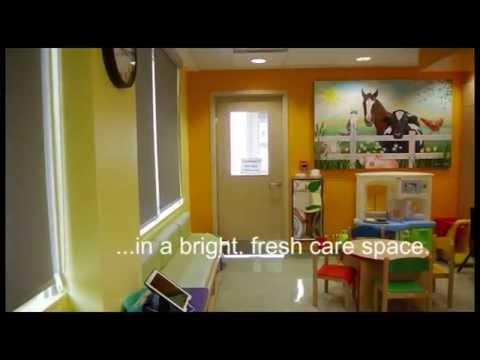 GRH welcomes Smilezone refresh in children's cancer clinic