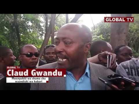 Tamko la wanahabari wa Arusha baada ya waandishi kukamatwa na Polisi.