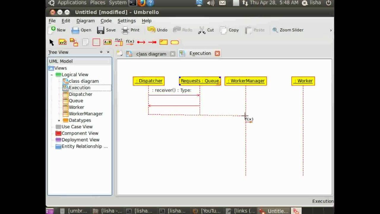 umbrello uml modeller creating sequence diagram - Tool To Create Sequence Diagram