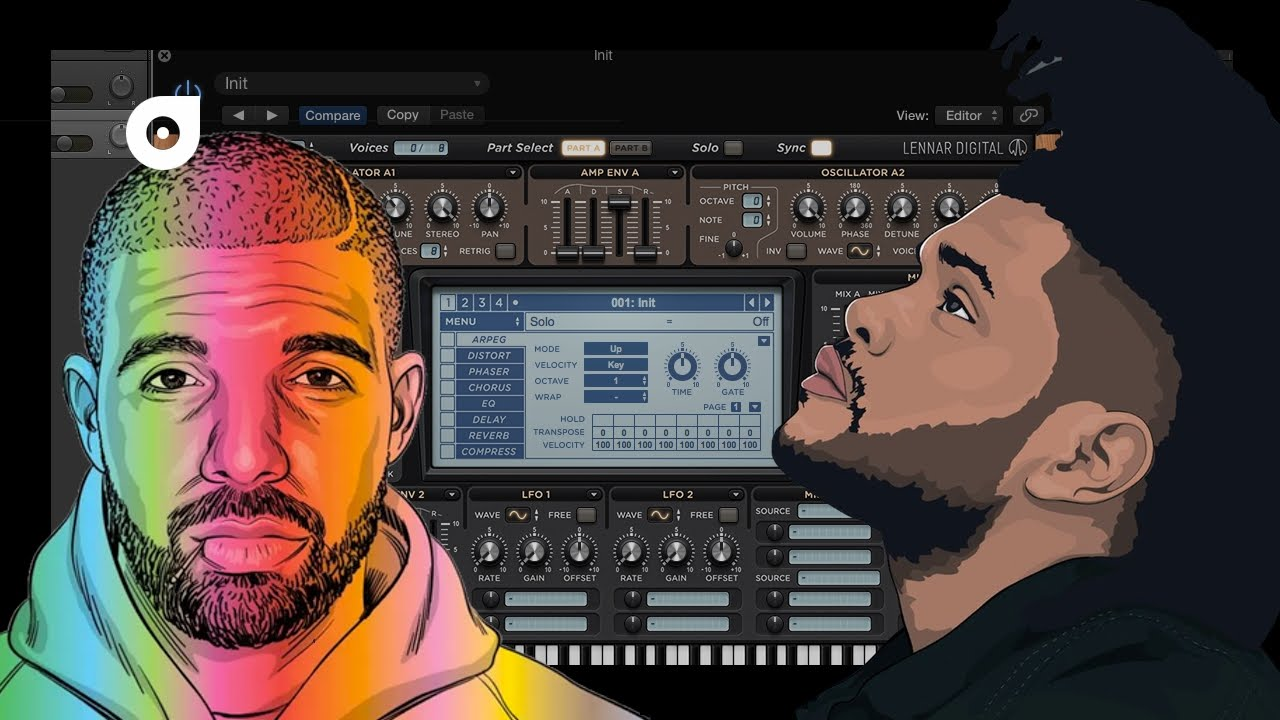 This is the most used synth/sound in Rap, Hip Hop and Trap