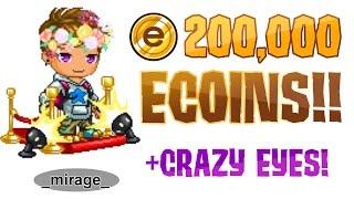 200,000 ECOINS FREE GLITCH 2016!! +CRAZY EYES