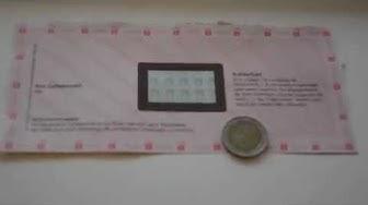Bank Geheimzahl wird WEG-GERUBBELT :)))