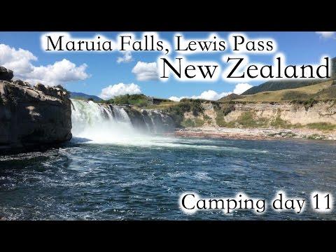Bellbirds and Maruia Falls at Lewis Pass NZ CAMP DAY 11 - Jan 6, 2016 | missjacquit vlogs