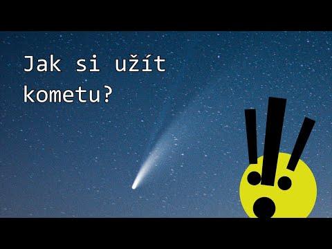 Kometa Neowise - jak si ji užít.
