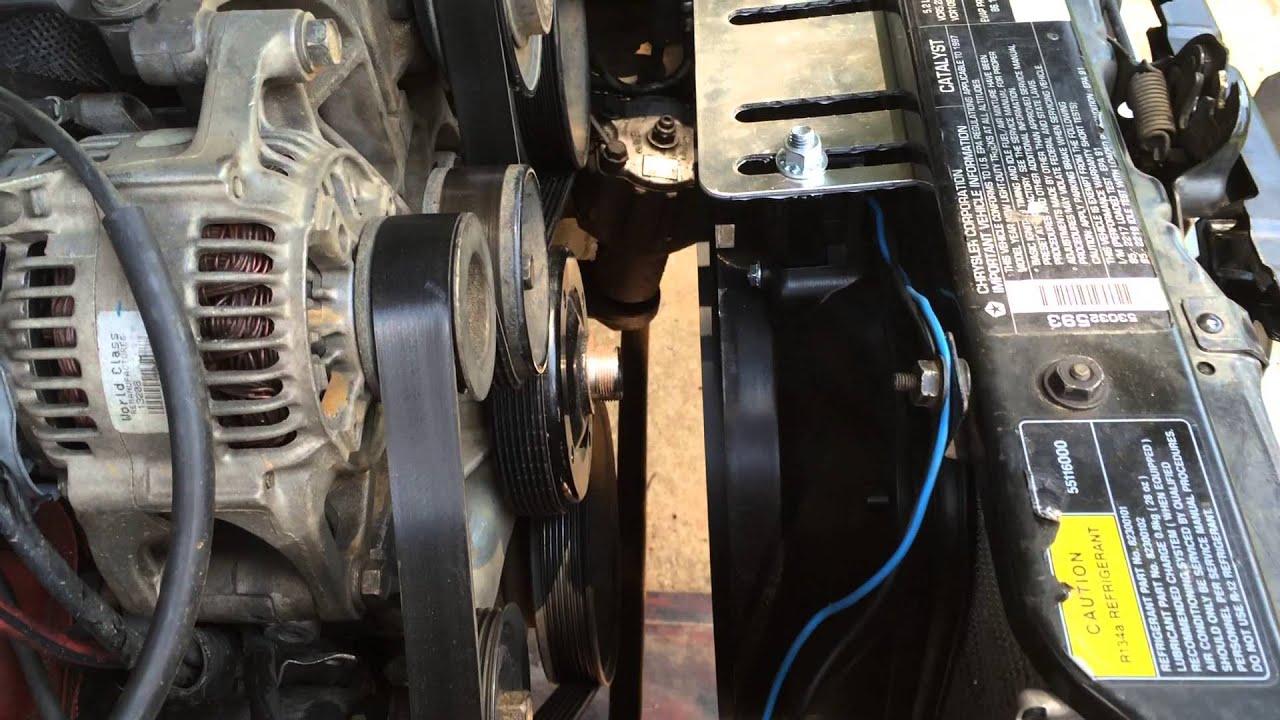 97 Jeep Zj Orvis 5 2 V8 Clutch Fan Vs Electric Fan Part 2