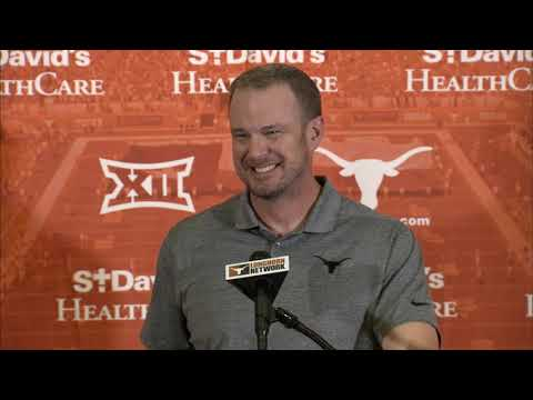 The Bottom Line - Tom Herman Addresses The Media On Monday After The Rice Game