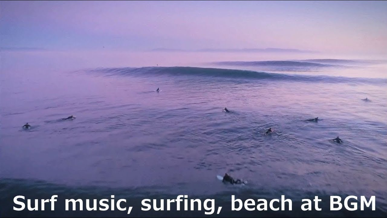 surf music surfing beach at bgm youtube