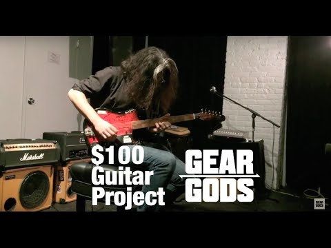 $100 Guitar Project With ALEX SKOLNICK, COLIN MARSTON, And More! | GEAR GODS