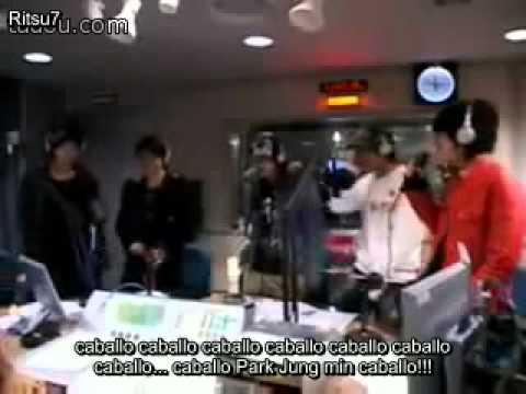 "SpanishSub YoungStreet Radio SS501 ""Mal Jung Min"" cover  DJ Doc's Run to you"