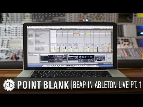 BEAP in Ableton Live (Max for Live): Creating a Subtractive Synth